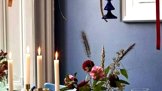 Moody Christmas with colourful decor: massive doze of festive inspirations by John Lewis