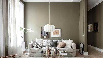 Lovely inexperienced in design of cozy Swedish condominium (60 sqm)