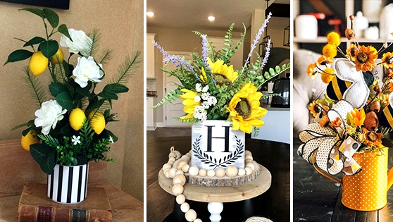 16 Refreshing Spring Centerpiece Designs You Will Need On Your Desk