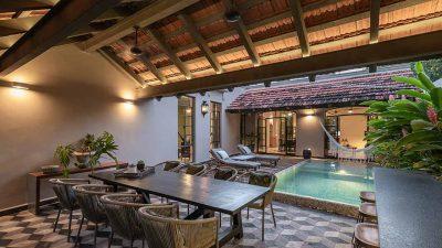Caribbean-style Villa With Refined Decor