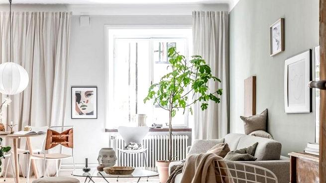 Cozy inexperienced condominium with classic doorways in Goteborg (60 sqm)