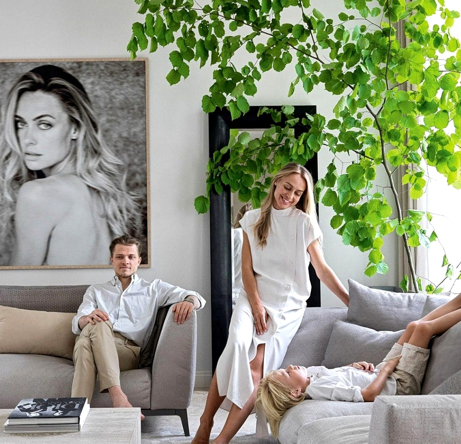 Eco-friendly magnificence: the house of the household of designer Helen Kucherova within the Moscow area