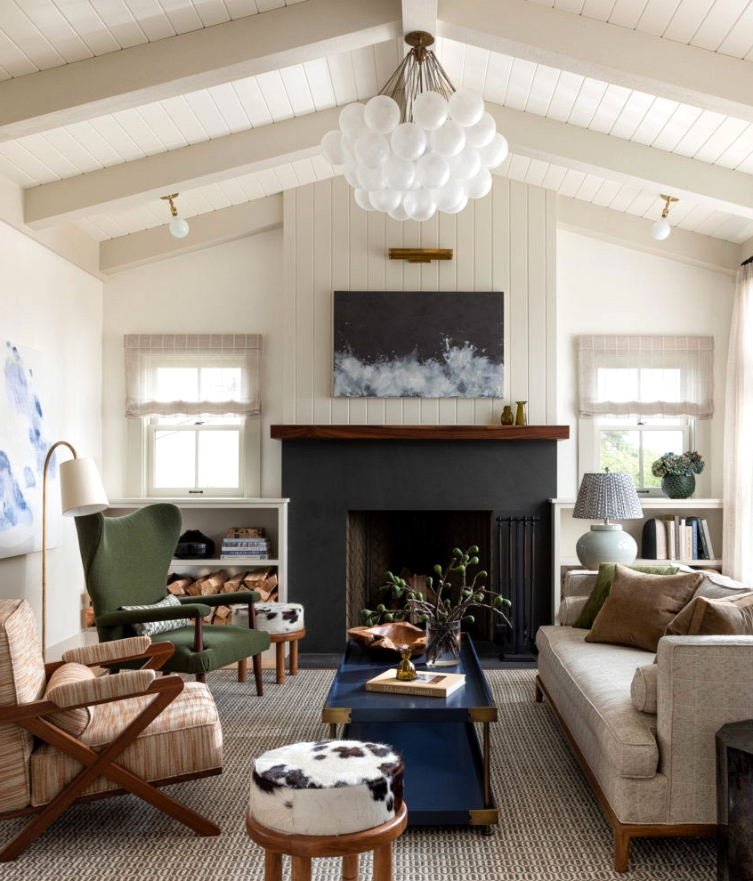 Elegant simplicity of American interiors by Brian Paquette
