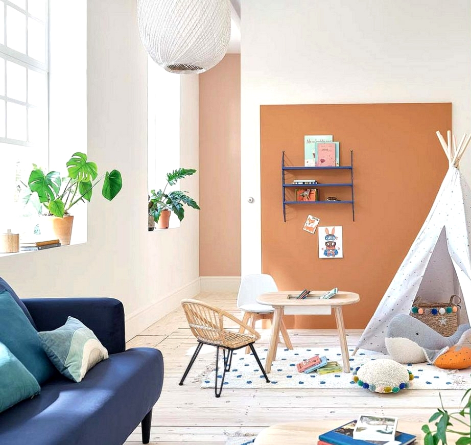 Pastel children interiors with summer season temper within the new catalog by Maisons du Monde