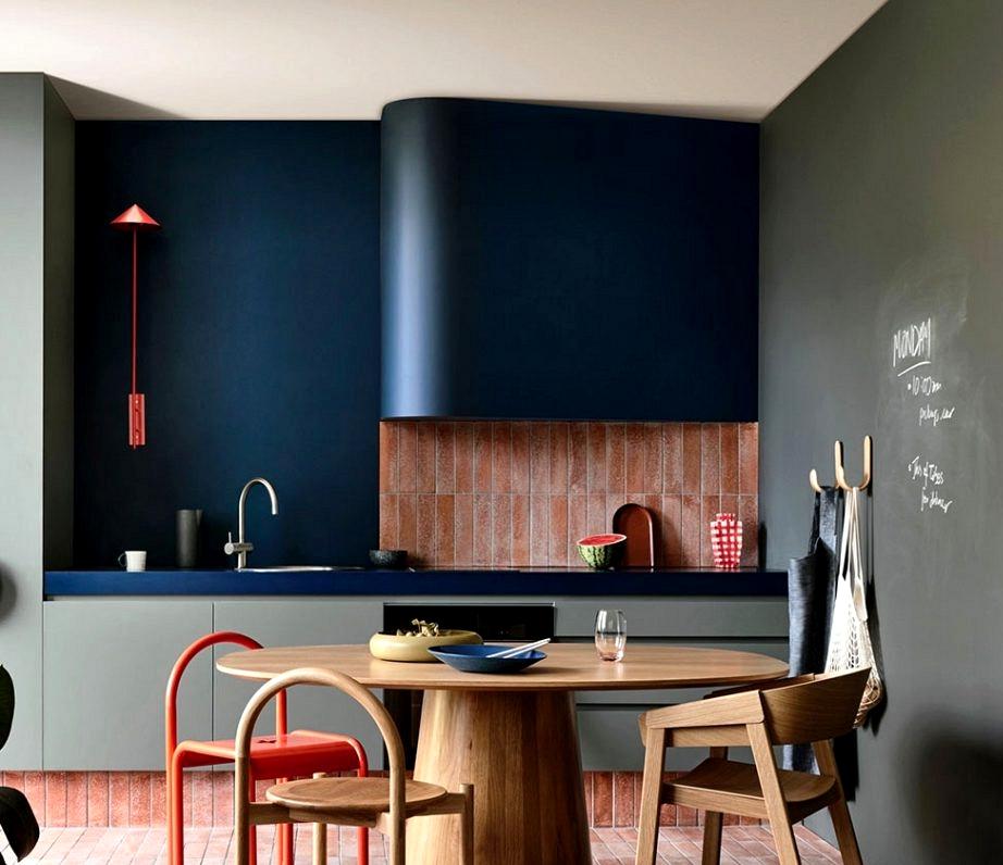 Trendy, colourful, conceptual: trendy kitchen by Australian studio Kennedy Nolan