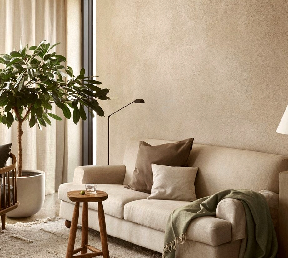 The fantastic thing about beige inside by Linum