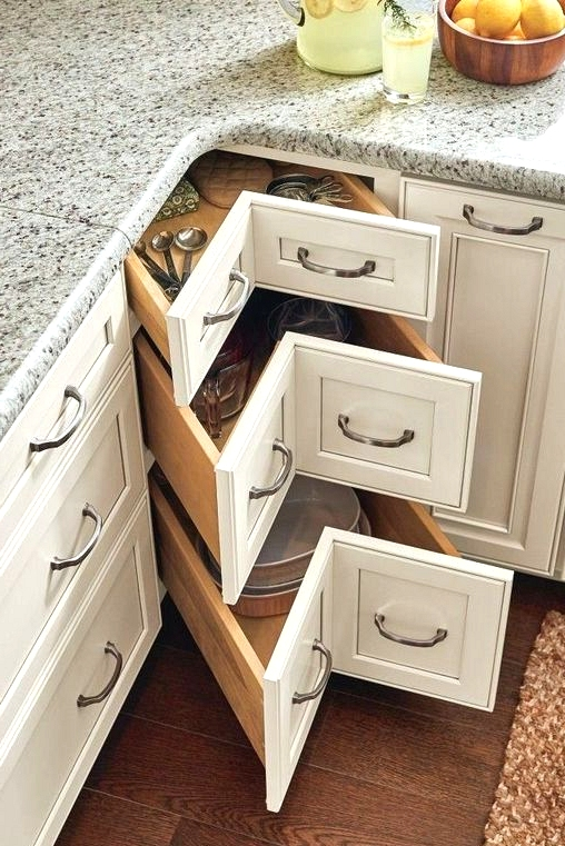 21 Minimalist Kitchen Group & Cupboard Storage Concepts