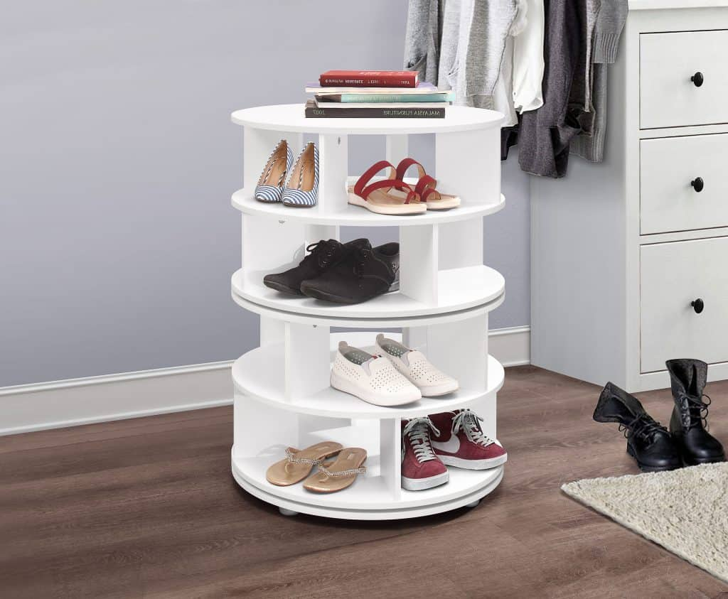 Invest in a Revolving Shoe Rack