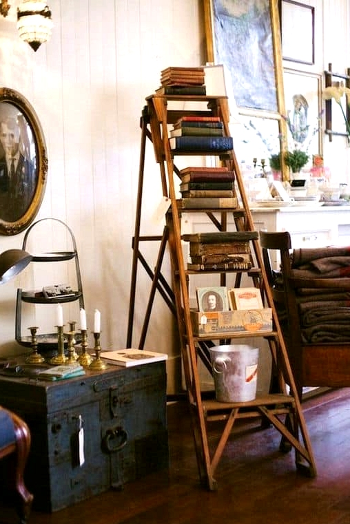 Create an Artsy Bookcase
