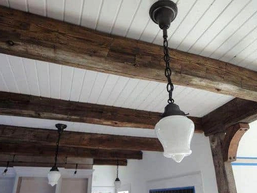 Get a Stylish Beadboard Ceiling