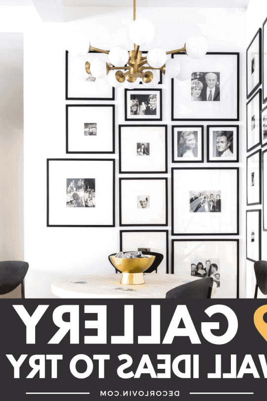 Gallery wall ideas to try