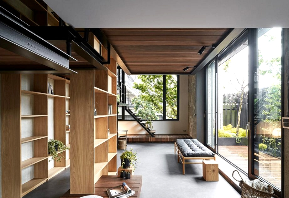 Award Successful Residence Inside With Suspended Bedrooms