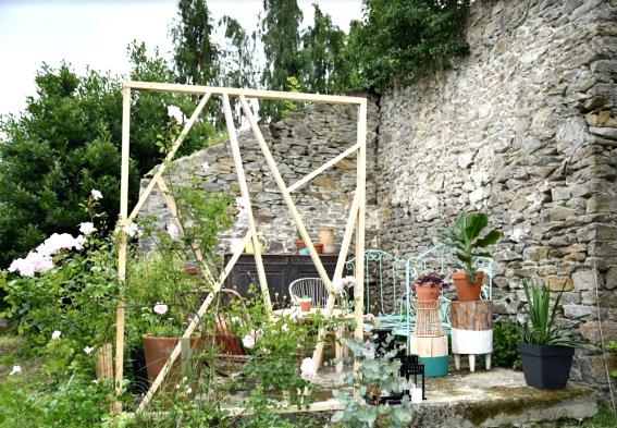 Claustras in the Garden