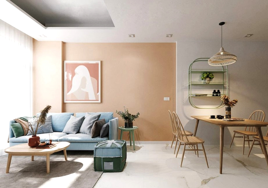 Combining Calming Colors To Make Restful Trendy Interiors
