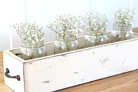 DIY Farmhouse Wood Box