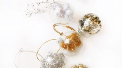 DIY Fancy Filled Ornaments