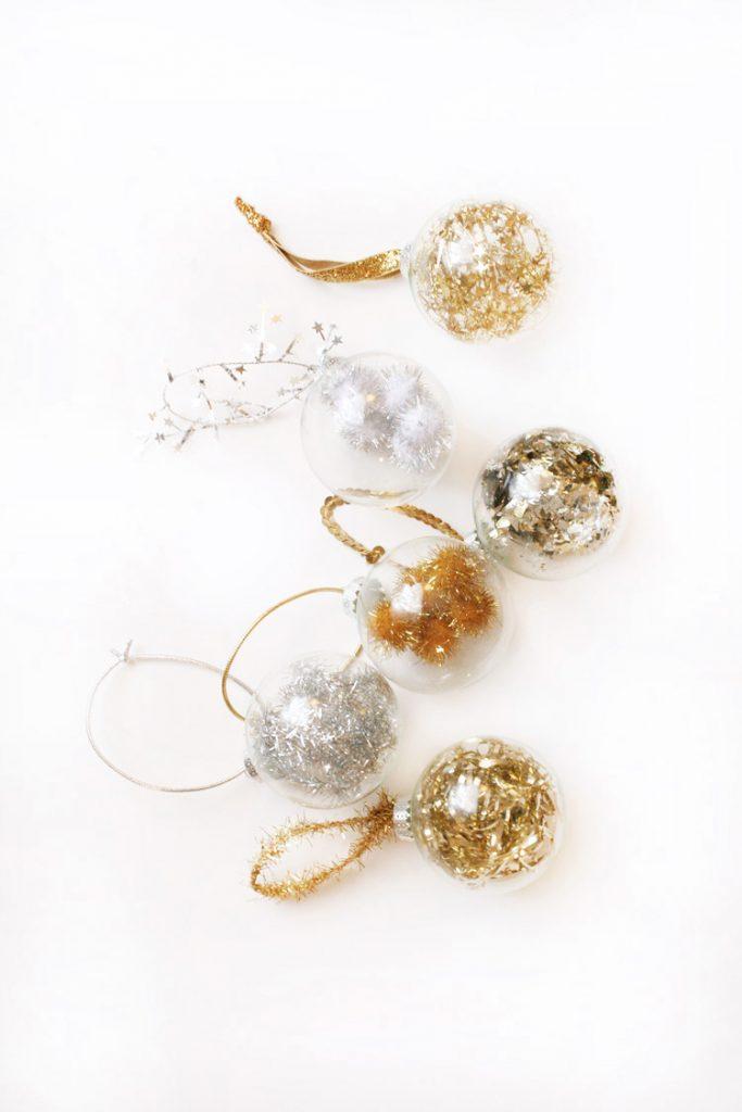 DIY Fancy Filled Ornaments