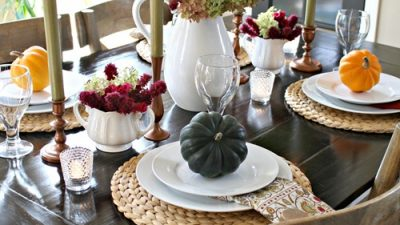 Thanksgiving Tablescape Decor