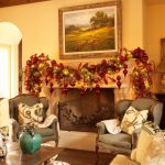 Family Room Fireplace Christmas Design Idea