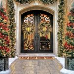 Mediterranean-Entry for Christmas Design Idea