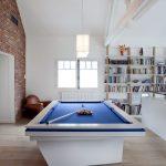 Modern & Clean Pool Table Room