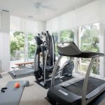 Modern Small Exercise Area