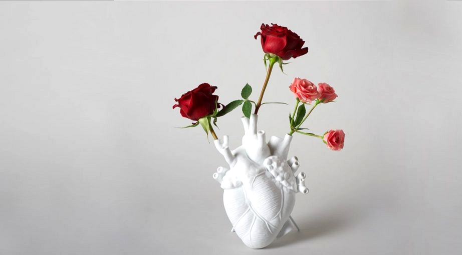 Product Of The Week: A Flower Vase Formed Like The Human Coronary heart