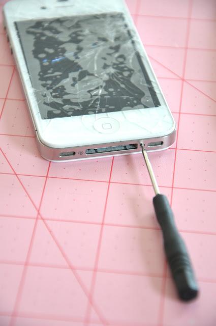 DIY Replace Broken iphone Screen