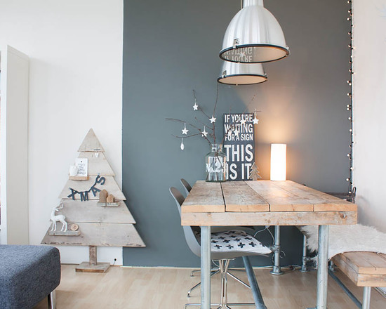 Small Apartment Christmas Design