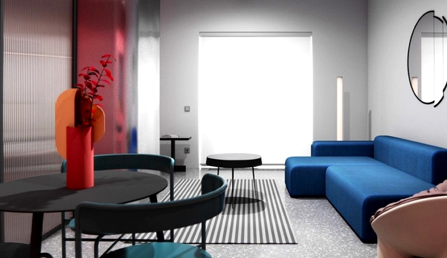 Small Interiors That Burst With Color