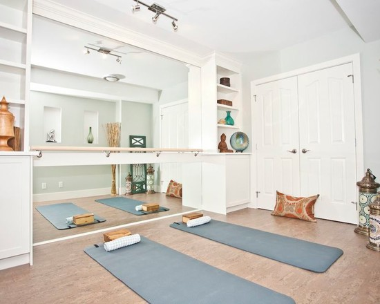 Yoga room design ideas