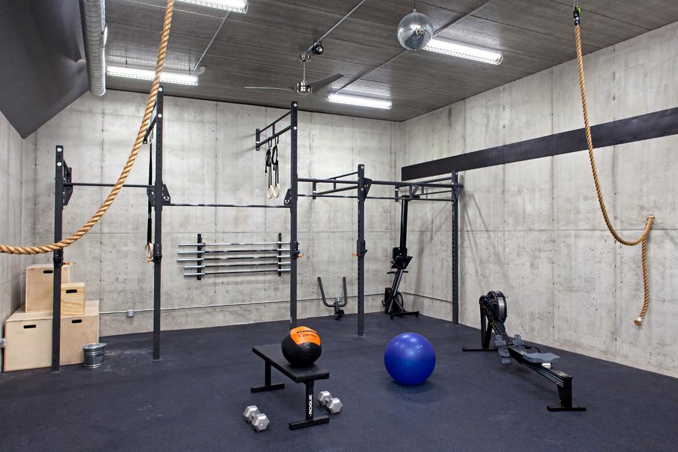 Interior GYM for Basement