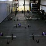 Industrial GYM with Recycled Rubber
