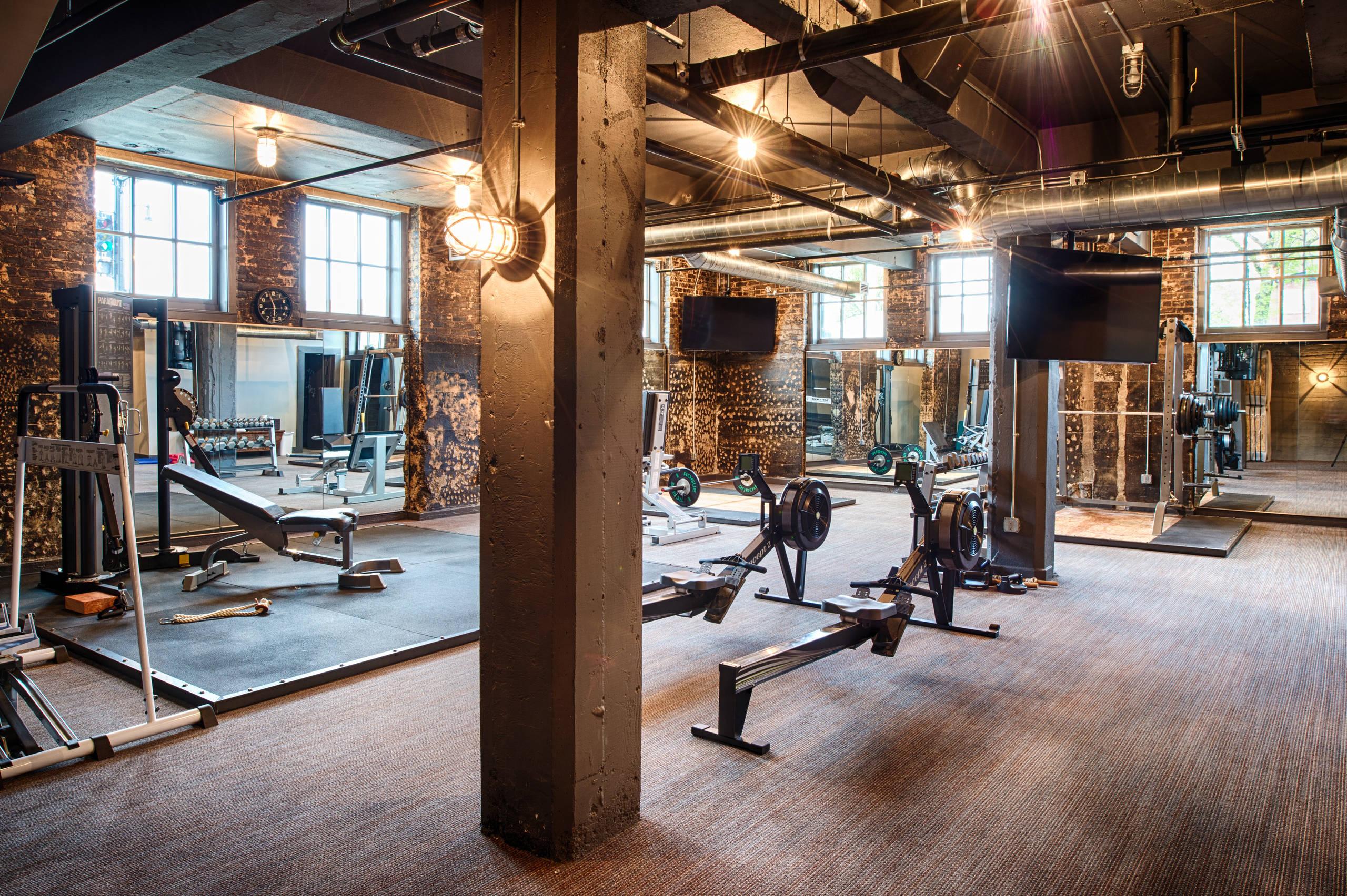 Fargo Laundry Industrial Home Gym